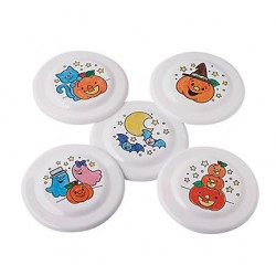 Colour Your Own Halloween Flying Discs - 25 Pack
