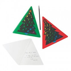 Magic Color Scratch Christmas Cards - 12 pack