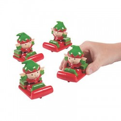 Chrsitmas Character Squish Toys - 50 pack