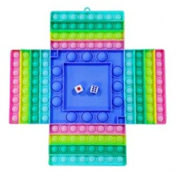 4 Player Sensory Pop Puzzle Game With Dice