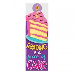 Cake-Scented Bookmarks - 24pack
