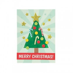 Christmas Tissue Paper Card Craft Kit