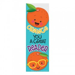 Orange Scratch n' Sniff Scented Bookmarks - 24pack
