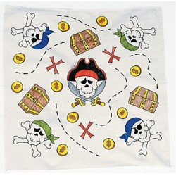 Color Your Own Pirate Bandana
