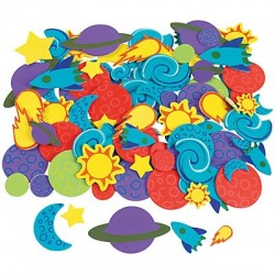 Space Adhesive Shapes 250pack