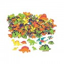 Dinosaur Adhesive Shapes 250 pack