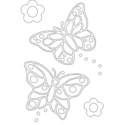 Sand Art Kit ~ Double Butterfly